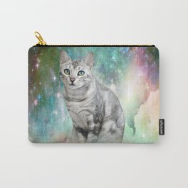 Purrsia Kitty Cat in the Emerald Nebula of Innocence Carry-All Pouch