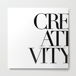 Creativity Metal Print
