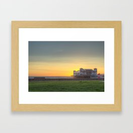 The End of the Day Framed Art Print