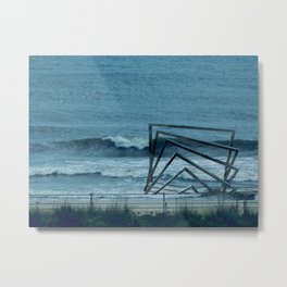 accepting life as it is: the shore Metal Print