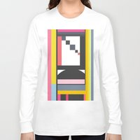 grafitti Long Sleeve T-shirts featuring Poesi  by Roarr
