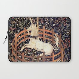 The Unicorn in Captivity Laptop Sleeve