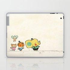 Walking with you Laptop & iPad Skin