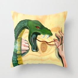Cobra | Venom Throw Pillow