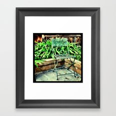 Empty. Framed Art Print