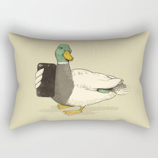 Duck Lips Rectangular Pillow