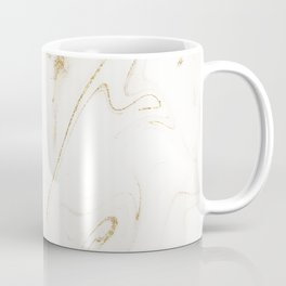Elegant gold and white marble image Coffee Mug
