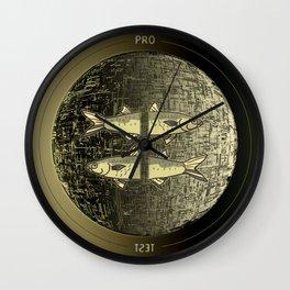Planetary Mood 5b / Vertical Divergence 10-02-17 Wall Clock