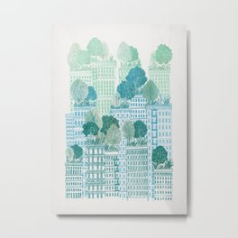 Juniper - A Garden City Metal Print