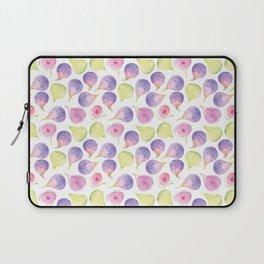 Watercolor Figs Laptop Sleeve