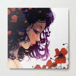 Les fleurs rouges... Metal Print