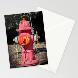 Molting Mueller Super Centurions Fire Hydrant Colorful Fireplug Stationery Cards