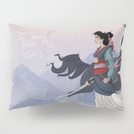 Mulan Pillow Sham