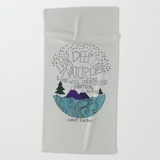Nature Beach Towel