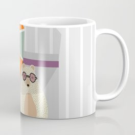 Bear at the beach Coffee Mug