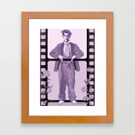 Buster Movie Hero Framed Art Print