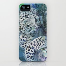 Leopard Abstract iPhone Case
