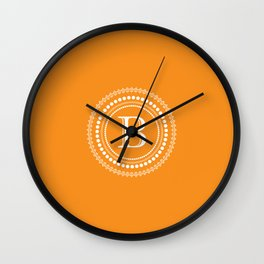 The Circle of  B Wall Clock