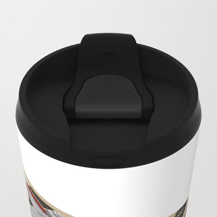 Burn Shit. Metal Travel Mug