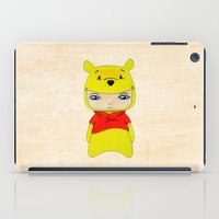 winnie the pooh iPad Cases featuring A Boy - Winnie-the-Pooh by Christophe Chiozzi