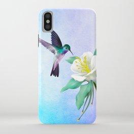 hummingbird. iPhone Case