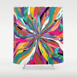 Pop Tunnel Shower Curtain