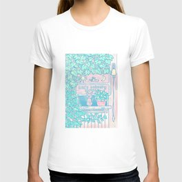 Jiji in the window T-shirt