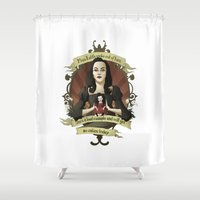 buffy Shower Curtains featuring Drusilla - Buffy the Vampire Slayer by muin+staers