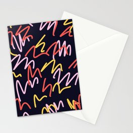 Abstract background Stationery Cards
