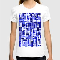 doors T-shirts featuring Doors - Blues by Finlay McNevin