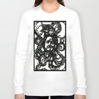 christian Long Sleeve T-shirts featuring Christian by Hanna Virdarson