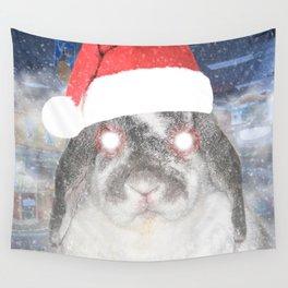 Snow Bunny Wall Tapestry