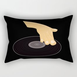 Dj Scratch Rectangular Pillow