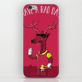 Bad Horacio iPhone Skin
