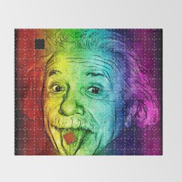 It's LSD, Einstein! Throw Blanket