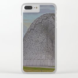 The Kelpies. Clear iPhone Case