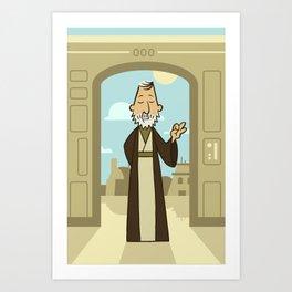 EP4 : Obi Wan Kenobi Art Print