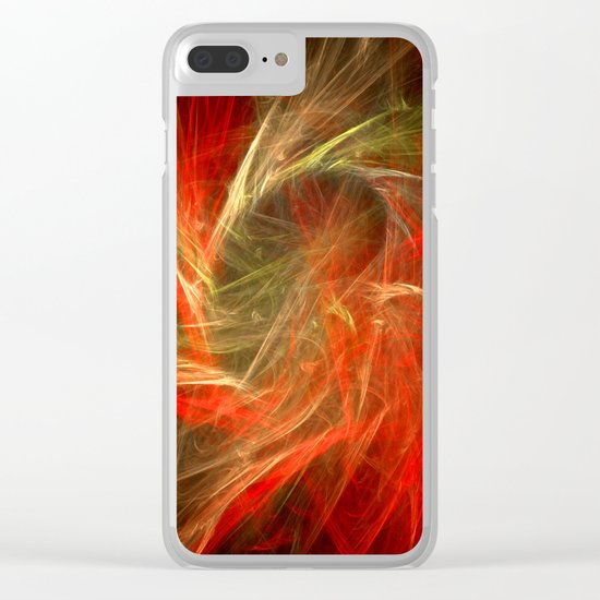 Ring of Fire Clear iPhone Case