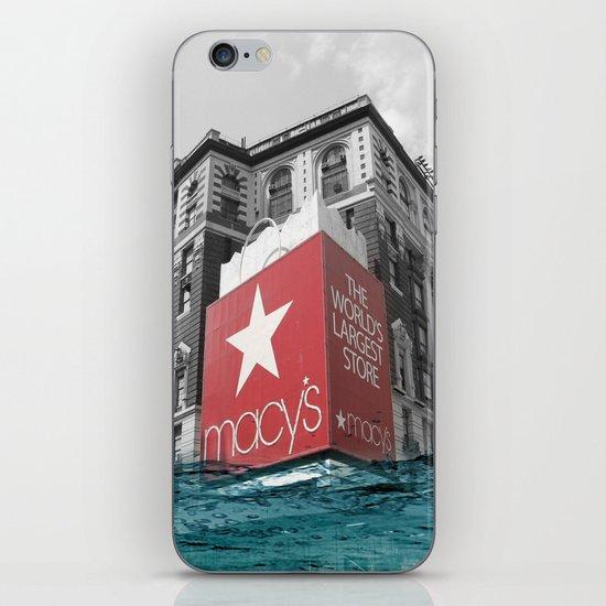 Macy's water line iPhone & iPod Skin