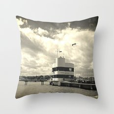 Storm Closing In Throw Pillow