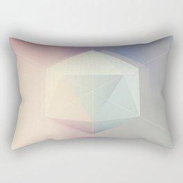 Icosahedron BETA Rectangular Pillow