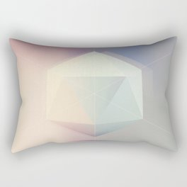 Icosahedron BETA Rectangular Pillow