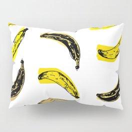 Colored Bananas Pillow Sham