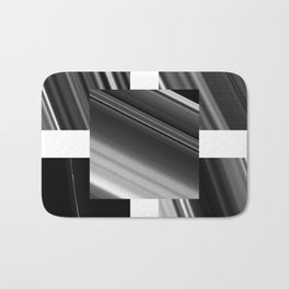 Saturn Rings (all) Bath Mat