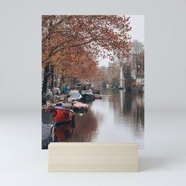 Autumn in Amsterdam Mini Art Print