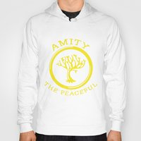 divergent Hoodies featuring Divergent - Amity The Peaceful by Lunil