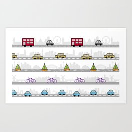 City travel Art Print