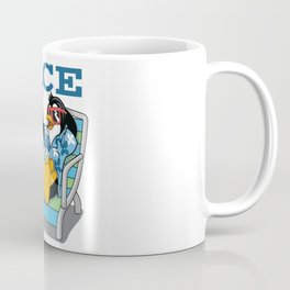 Funny Duck Face of Love Coffee Mug