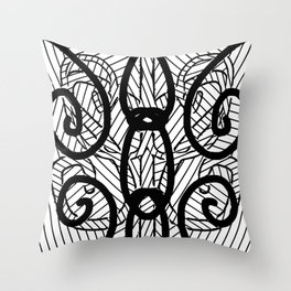 Spiraling #3 Throw Pillow
