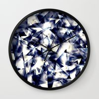 shining Wall Clocks featuring Shining by llande